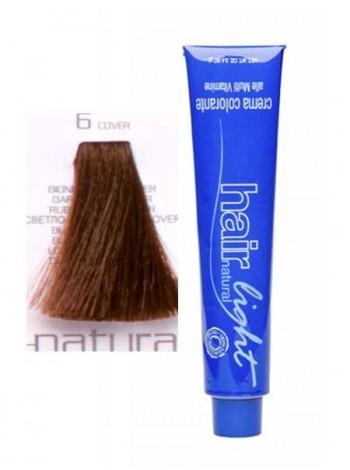 Крем-краска Hair Company Hair Light 6.0 светло-каштановый