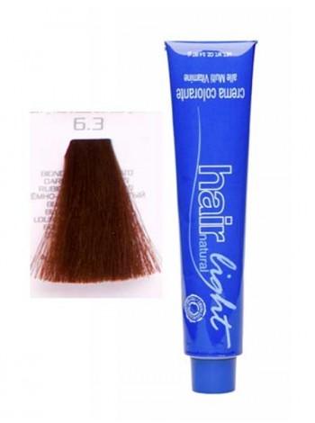 Крем-краска Hair Company Hair Light 6/3 темно-русый золотистый