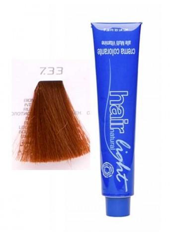 Крем-краска Hair Company Hair Light 7/33 русый золотистый интенсивный