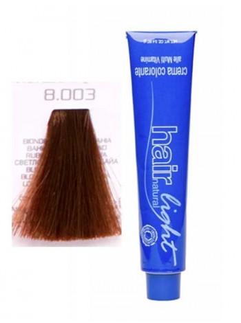 Крем-краска Hair Company Hair Light 8.003 светло-русый натуральный байя