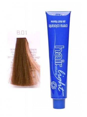 Крем-краска Hair Company Hair Light 8/01 светло-русый натуральный сандрэ