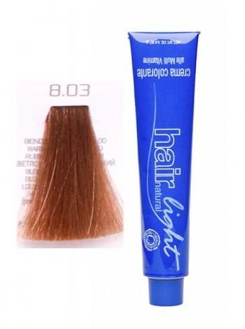 Крем-краска Hair Company Hair Light 8/03 светло-русый натуральный яркий