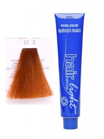 Крем-краска Hair Company Hair Light 8/3 светло-русый золотистый
