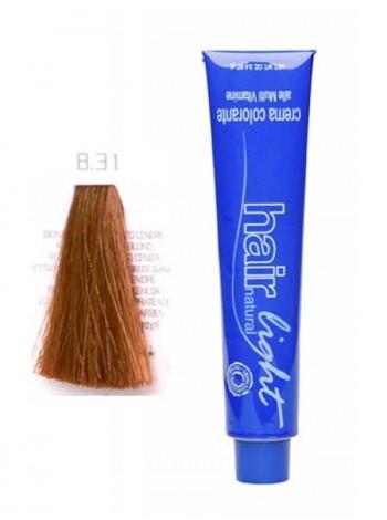 Крем-краска Hair Company Hair Light 8/31 светло-русый золотисто-пепельный