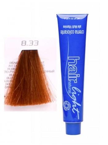 Крем-краска Hair Company Hair Light 8/33 светло-русый золотистый интенсивный