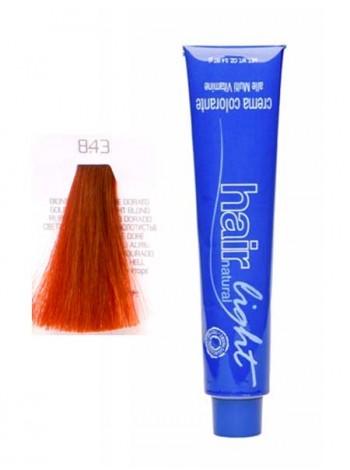 Крем-краска Hair Company Hair Light 8/43 светло-русый медно-золотистый