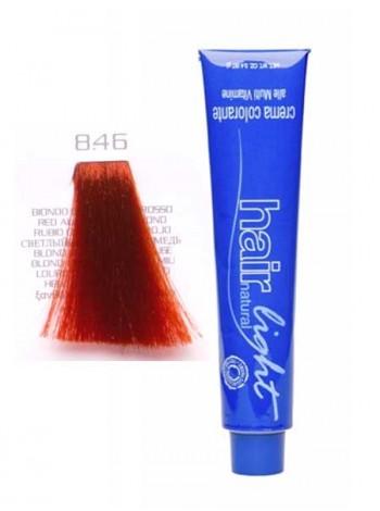 Крем-краска Hair Company Hair Light 8/46 светло-русый медно-красный