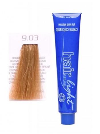 Крем-краска Hair Company Hair Light 9/03 экстра светло-русый натуральный яркий