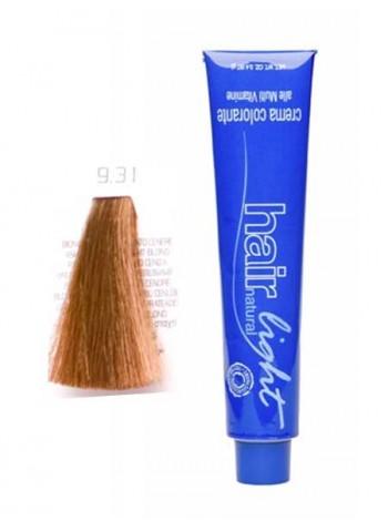 Крем-краска Hair Company Hair Light 9/31 экстра светло-русый золотисто-пепельный