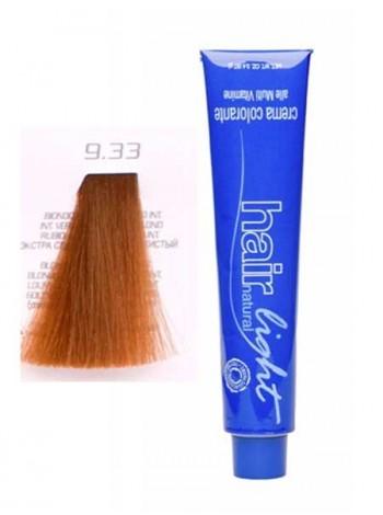 Крем-краска Hair Company Hair Light 9/33 экстра светло-русый золотистый интенсивный