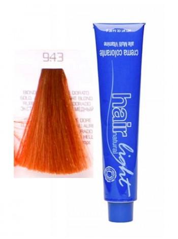 Крем-краска Hair Company Hair Light 9/43 экстра светло-русый медно-золотистый