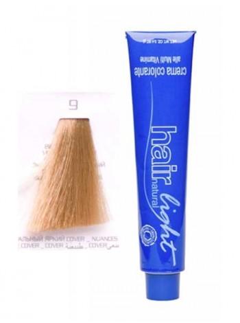 Крем-краска Hair Company Hair Light 9 экстра светло-русый платиновый блондин