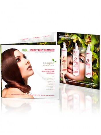 Набор для глубокого энергетического ухода. Hair Company