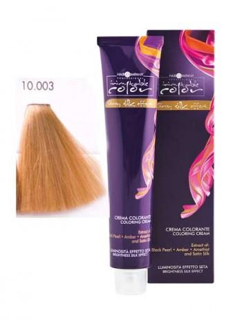 Крем краска Hair Company Inimitable Color 10/003 Платиновый карамельный блондин