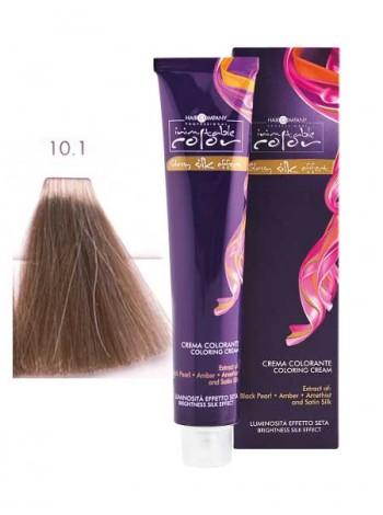 Крем краска Hair Company Inimitable Color 10/1 платиновый пепельный блондин