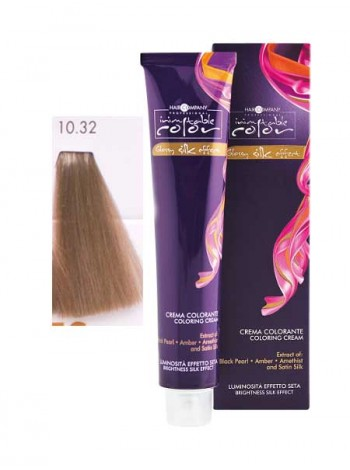 Крем краска Hair Company Inimitable Color 10/32 платиновый песочный блондин