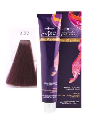 Крем краска Hair Company Inimitable Color 4/22 интенсивный сияющий каштан