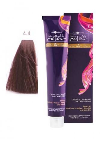 Крем краска Hair Company Inimitable Color 4/4 коричнево-медный