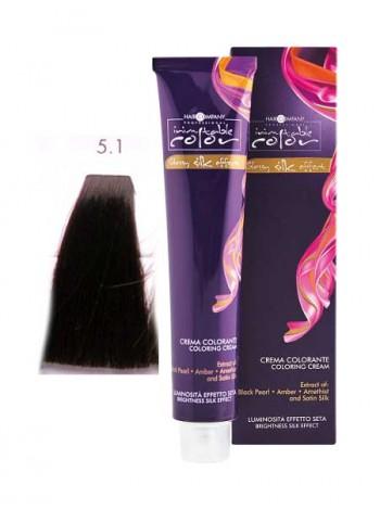 Крем краска Hair Company Inimitable Color 5.1 платиновый пепельный блондин