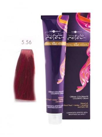 Крем краска Hair Company Inimitable Color 5/56 светло-каштановый красный махагон