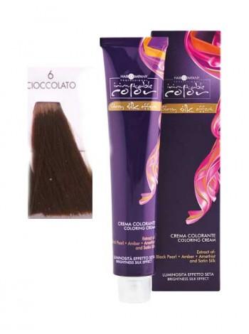 Крем краска Hair Company Inimitable Color 6/4 темно-русый медный