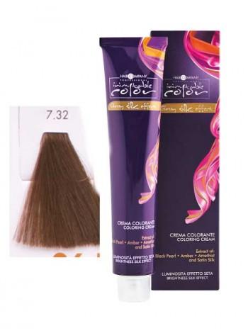 Крем краска Hair Company Inimitable Color 7/32 песочный блондин
