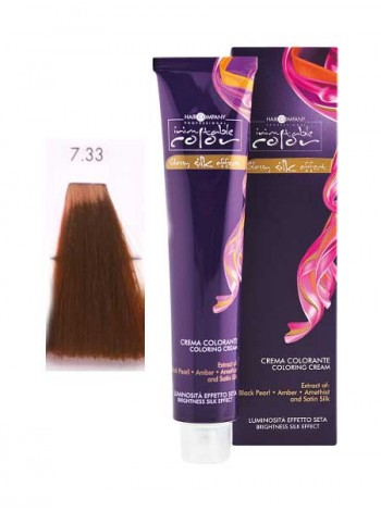 Крем краска Hair Company Inimitable Color 7/33 интенсивный золотистый блондин