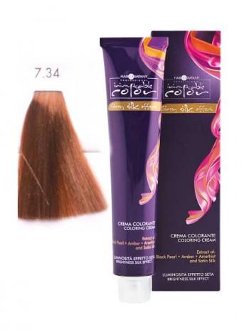 Крем краска Hair Company Inimitable Color 7/34 медный золотистый блондин