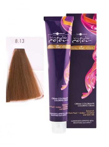 Крем краска Hair Company Inimitable Color 8/13 холодный орех