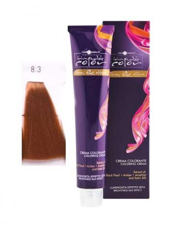 Крем краска Hair Company Inimitable Color 8/3 светлый золотистый блондин