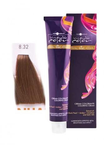 Крем краска Hair Company Inimitable Color 8/32 коричневый каштан глазурированный