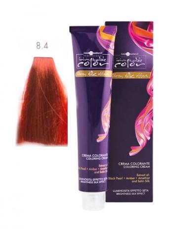 Крем краска Hair Company Inimitable Color 8/4 светлый медный блондин