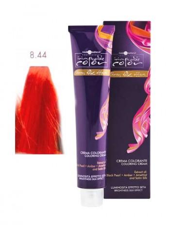 Крем краска Hair Company Inimitable Color 8/44 светло-русый медный интенсивный