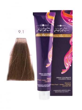 Крем краска Hair Company Inimitable Color 9/1 супер светлый пепельный блондин
