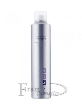 Спрей-блеск для волос Ing professional