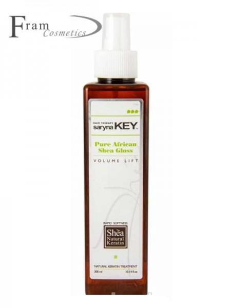 Спрей-блеск с маслом Ши для объема волос Saryna Key Volume Lift