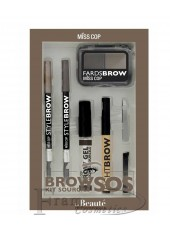 "Набор для бровей ""Brow kit sos"" ANAFELI"