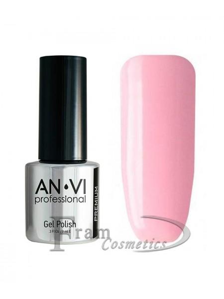 Гель лак ANVI №004 бледный пурпурно-розовый