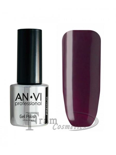 """Гель лак ANVI №019 """"пурпурно-фиолетовый"""""""