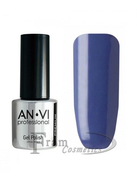 """Гель лак ANVI №025 """"фиолетово-синий"""""""