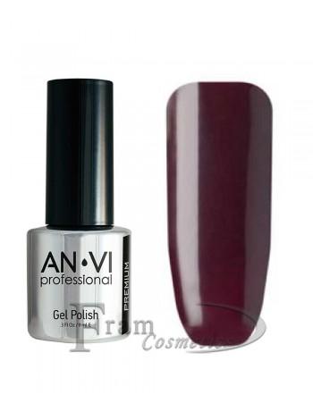 """Гель лак ANVI №028 """"пурпурно-фиолетовый"""""""