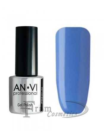 Гель лак ANVI №035 синяя сталь