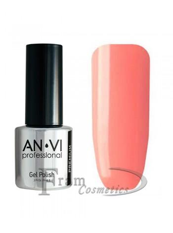 """Гель лак ANVI №037 """"насыщенный розовый"""""""