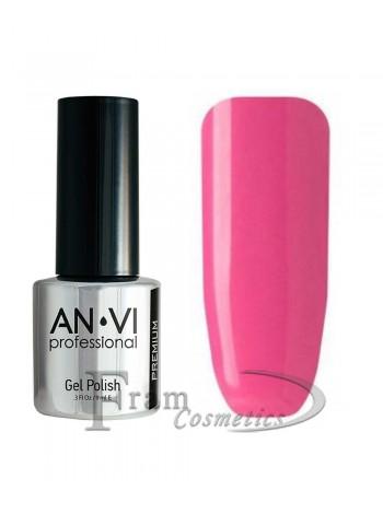 """Гель лак ANVI №048 """"глубокий пурпурно-розовый"""""""