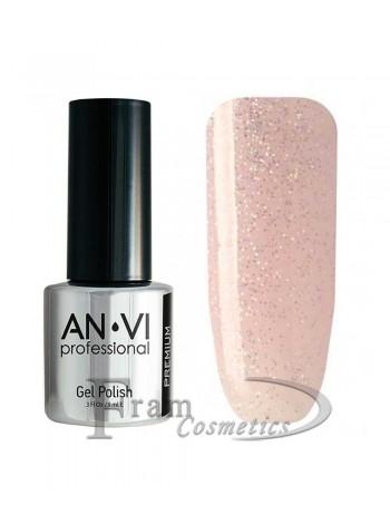 """Гель лак ANVI №060 """"очень бледно-пурпурный"""""""