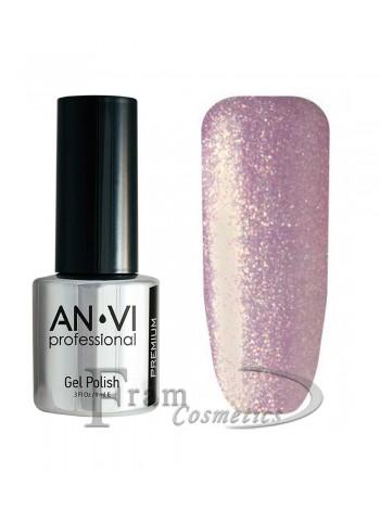 """Гель лак ANVI №061 """"розово-коричневый"""""""