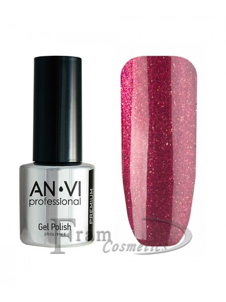 """Гель лак ANVI №119 """"бордово-фиолетовый"""""""