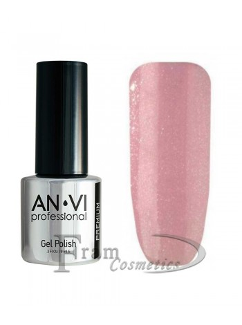 """Гель лак ANVI №139 """"серовато-пурпурно-розовый"""""""