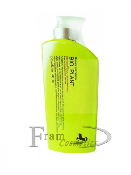 Омолаживающий шампунь стимулирующий рост волос Bio Foton Shou Grass