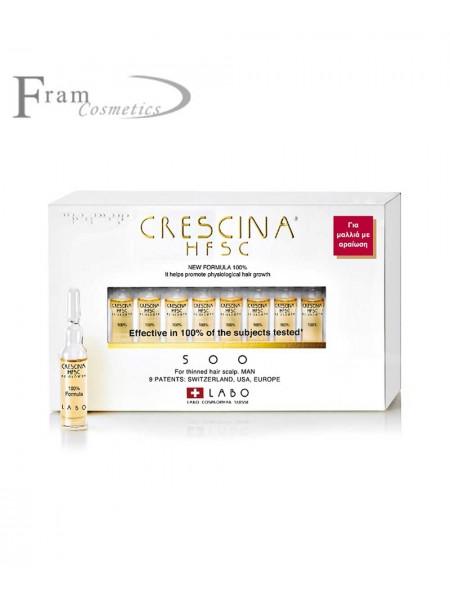 Crescina 1300 cредство для восстановления роста волос для мужчин 350 ml